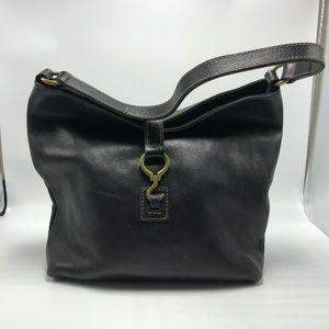 Lauren Ralph Lauren Black Leather Purse